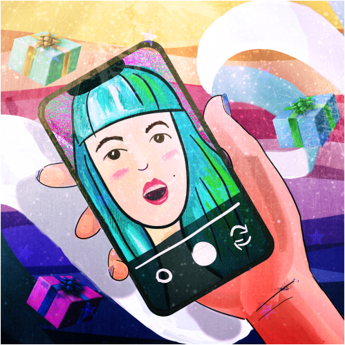 Иконка инстаграма - Single